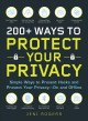 200+ ways to potect your privacy by jeni rogers