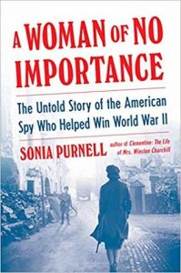 A woman of no importance Sonia purnell