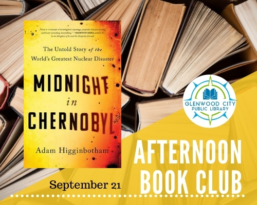 Afternoon Book Club: Sept. 21st @ 4pm