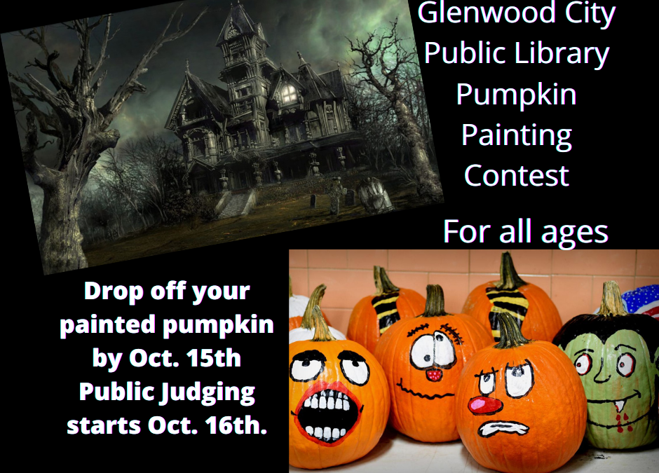 Pumpkin Painting Contest for all ages!