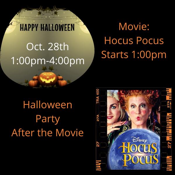 Halloween Movie & Party