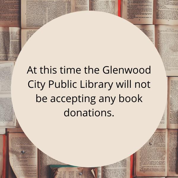 No Book Donations