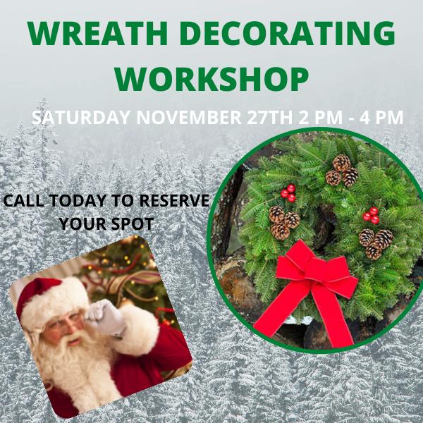 Wreath Decorating Workshop